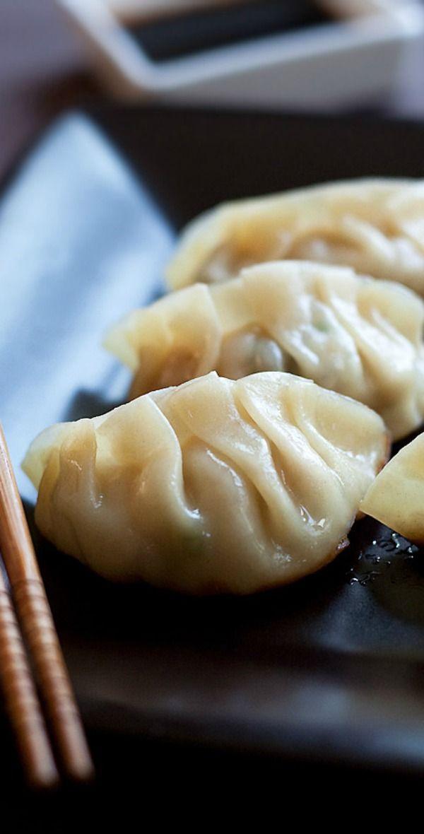 Gyoza Recipe – Gyoza are Japanese dumplings. Learn how to make the best gyoza with this quick & easy recipe | rasamalaysia.com
