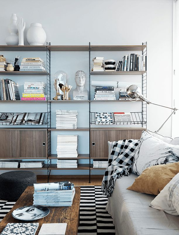 A life to ready shelve with String System