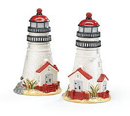 Lighthouse Kitchen Decor | Salt U0026 Pepper Shakers