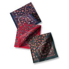 Paisley -Taschentücher von Barbour      bestellen - THE BRITISH SHOP - englische Herrenkleidung online günstig kaufen