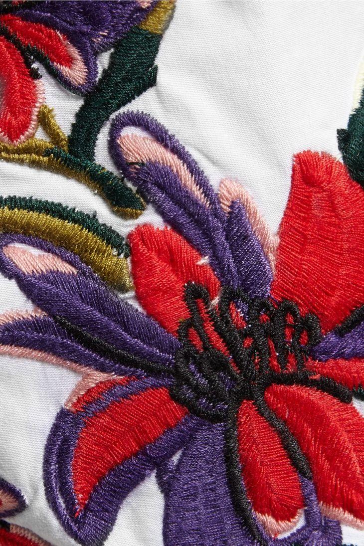 ирис вышивка на платок схема