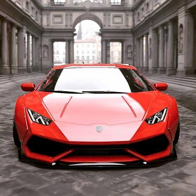Lamborghini Huracan By Liberty Walk.
