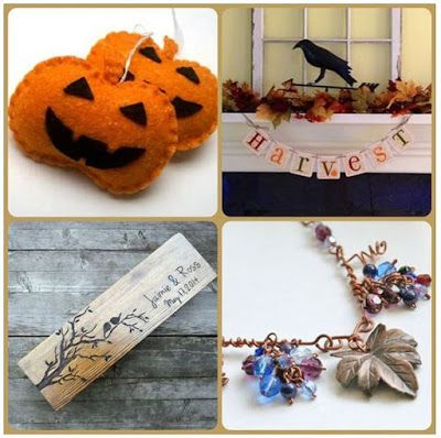 Hungarians' Etsy Team: Decorate for the Harvest season with our primitive...