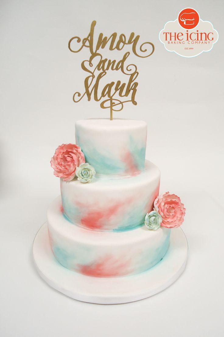 Best 74 Wedding Cakes ideas on Pinterest | Cake wedding, Awesome ...