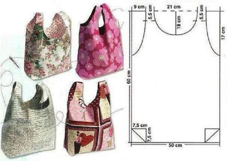 DIY Easy to Make Tote Bag | UsefulDIY.com Follow us on Facebook ==> https://www.facebook.com/UsefulDiy
