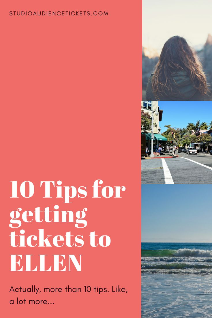 10 Tips to get tickets to the Ellen Degeneres show in Burbank, California. Actually, way more than 10 tips!