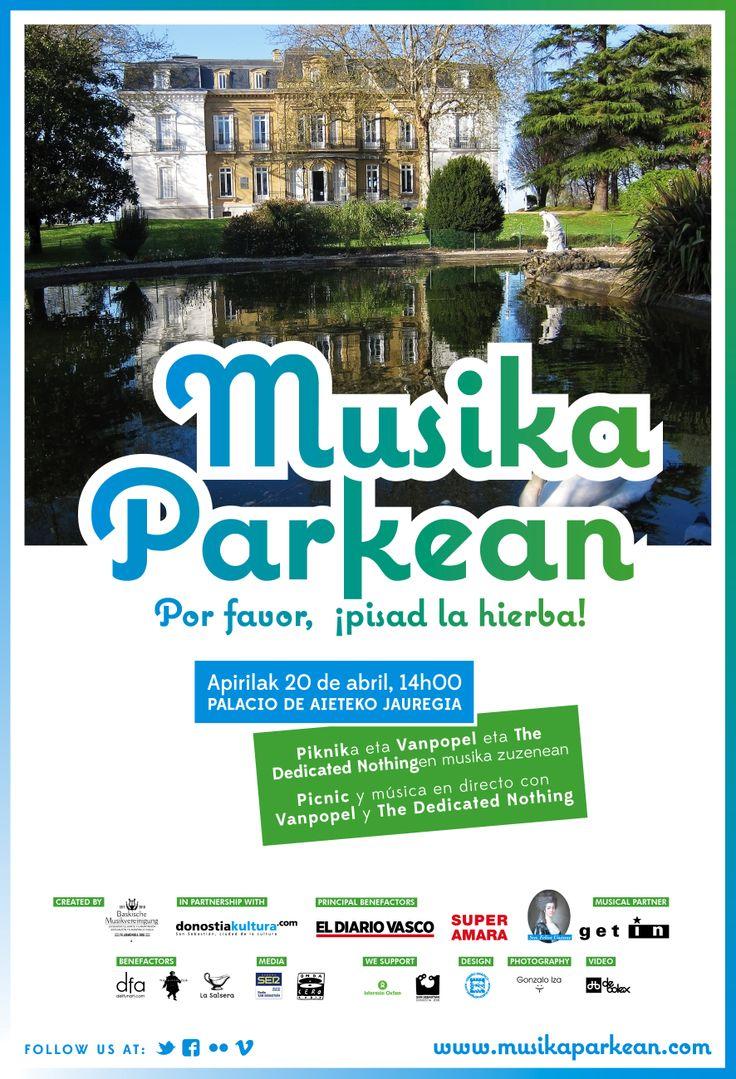 Musika Parkean XVI - 20.04.2013, Palacio de Aiete-ko jauregia