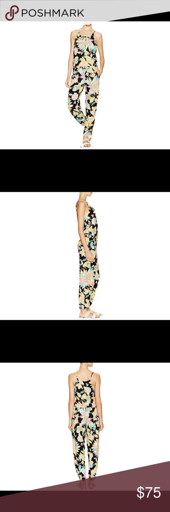 NWT Trina Turk Jumpsuit Tahitian print romper. New with tags. Trina Turk Pants Jumpsuits & Rompers