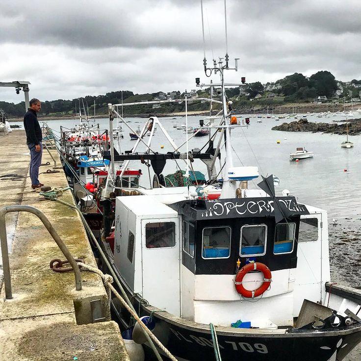 port de Locquemeau près de Lannion Bretagne