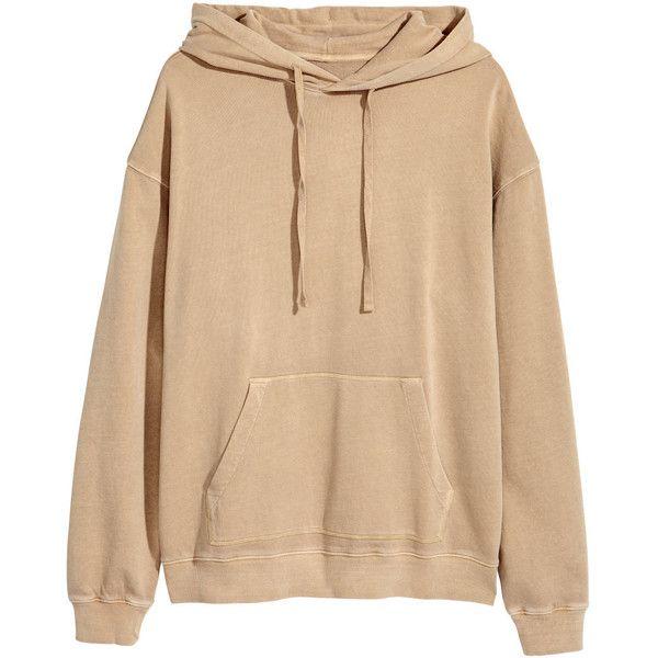 Beige hoodie