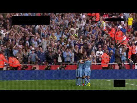 Arsenal 0-1 Manchester City: Sergio Agüero goal