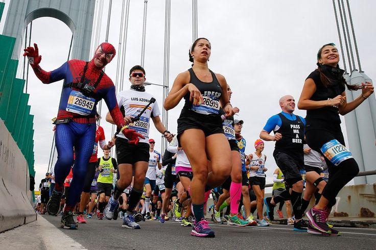 Le marathon de New York se déroulait ce 1er novembre.