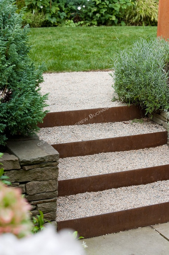 1000 ideas about outdoor stairs on pinterest wrought for Exterior stone stairs design