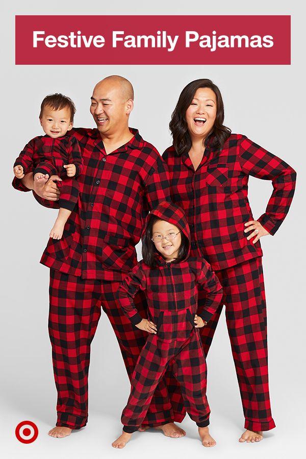 Swipe To Find Your Fave Festive Family Pajama Outfits Buffalo Plaid Feliz Navidad Red Family Christmas Pajamas Christmas Pajamas Christmas Family Photoshoot