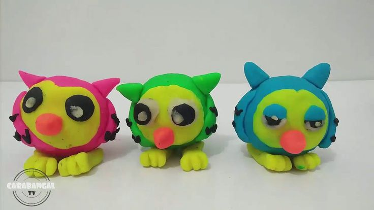 How To Make OWL #Tutorial How To Make OWL With Playdoh