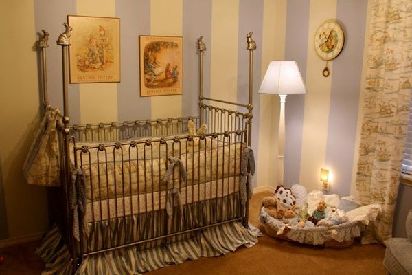 Themed nursery beatrix potter and chronicles of narnia on for Beatrix potter bedroom ideas