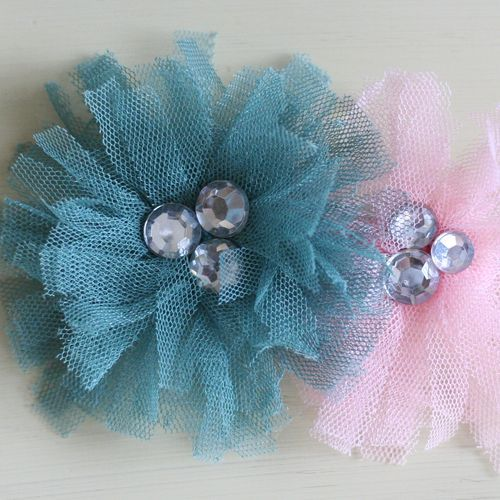 tu-tu tulle flower video