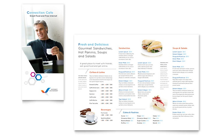 free restaurant menu templates for mac - free menu template download brochures bus cards menus
