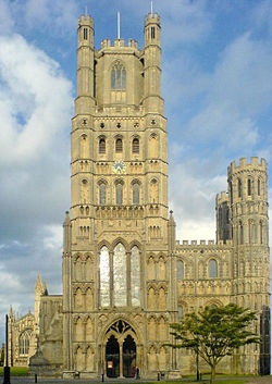 Ely Cathedral - I was fortunate enough to get to see this in person as a junior in high school.  I can't wait to go back!
