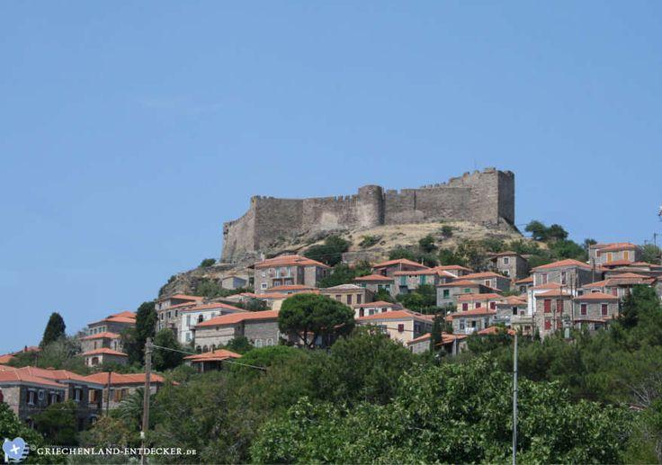 Die Burg von Mithymna (Molivos) ist eine der beliebtesten Sehenswürdigkeiten der griechischen Insel Lesbos