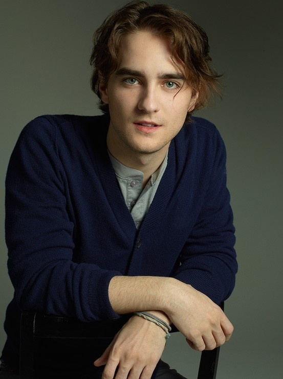 "The Cast: Landon Liboiron stars as the very ""hirsute"" gypsy with a secret, Peter Rumancek."