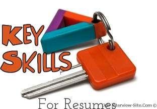 Resume Skills: List of Skills for Resume, Sample: Resume Job Skills Examples