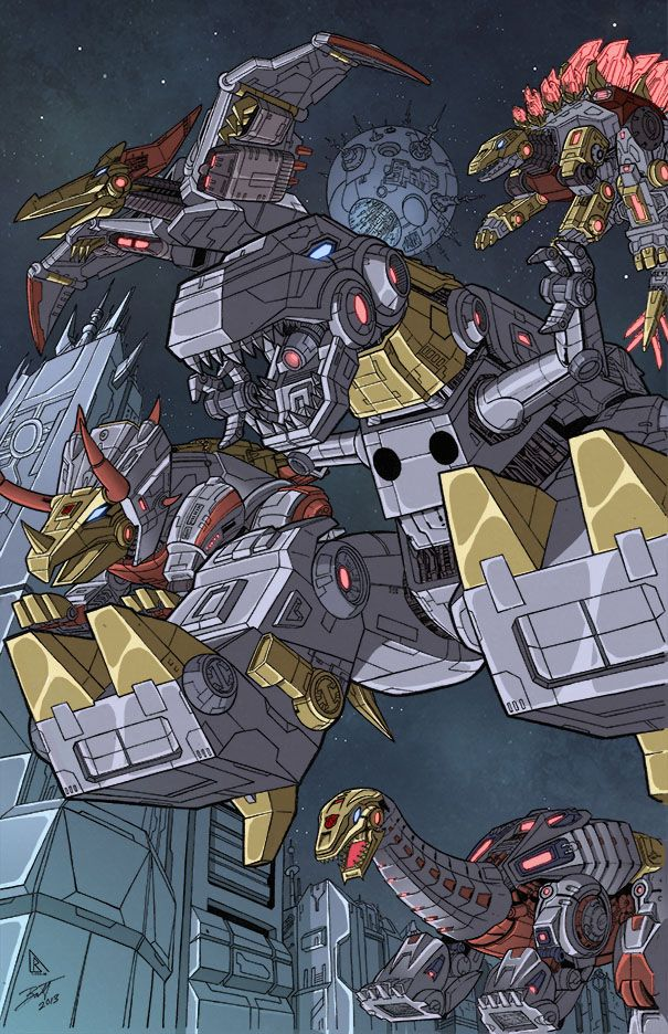 FOC dinobots colors low res by BDixonarts.deviantart.com on @deviantART
