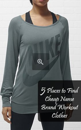 5 Places to Find  {CHEAP} Name Brand Workout Clothes (TJMaxx and Forever21 are among my 2 favs on this list)