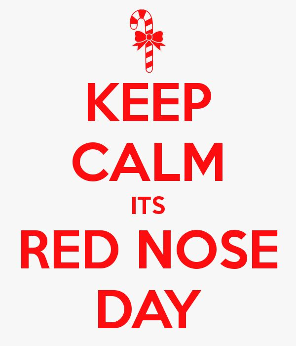 #RedNoseDay inspiration. #KeepCalm and get your red nose!