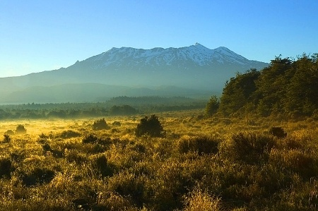 New Zealand's Mount Ruapehu