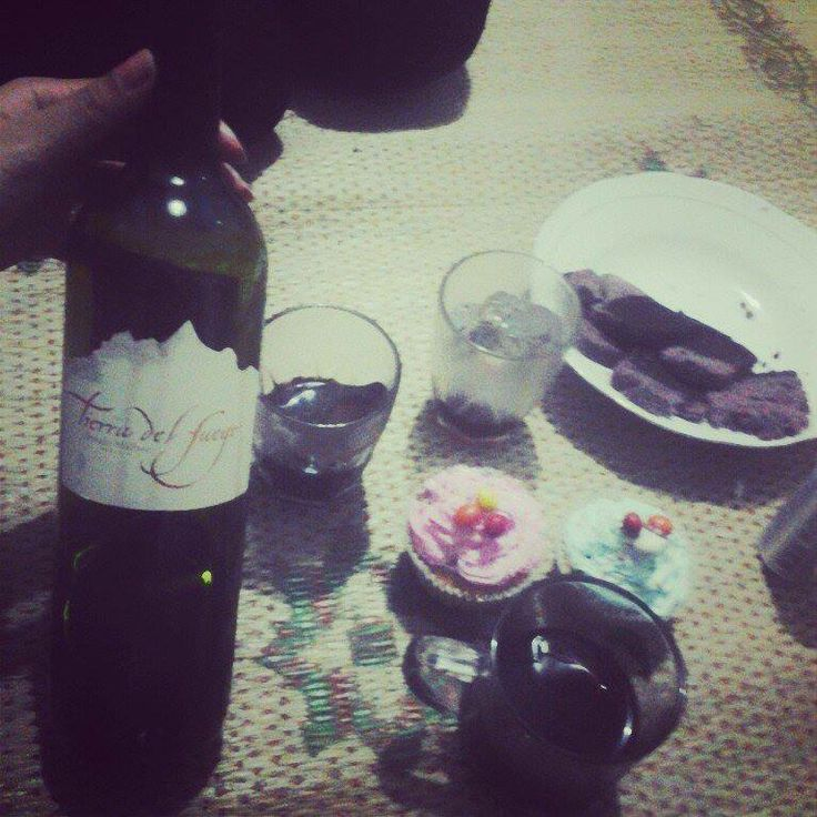 The wine, I liked it, whether the white or the red one :)