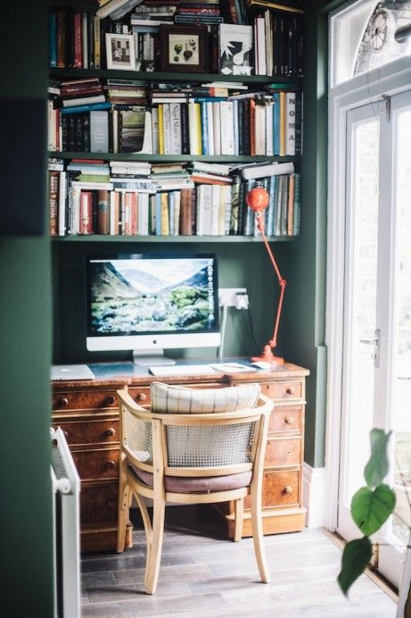Charlotte Rey  Duncan Campbell - Freunde von Freunden- perfect little book/study space!