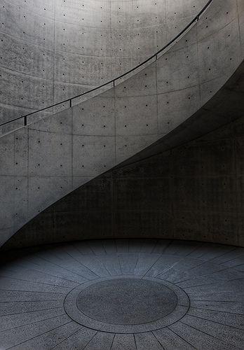 Tadao Ando - Hyogo Prefectural Museum of Art, Japan.