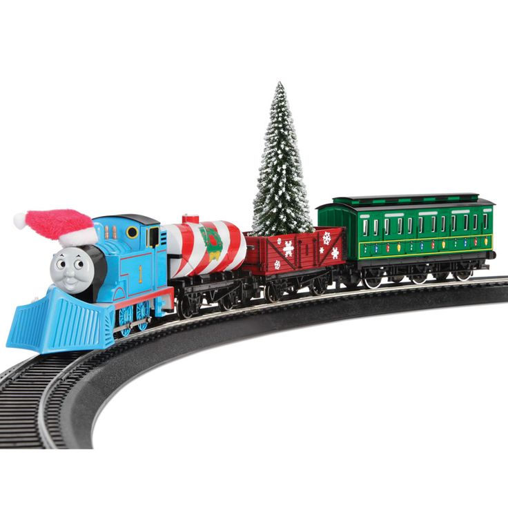The Thomas The Tank Engine Holiday Train - Hammacher Schlemmer  sc 1 st  Pinterest & 29 best Thomas the tank engine images on Pinterest | Thomas the ... islam-shia.org