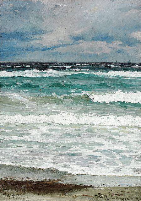 Krøyer_Sea Study by BoFransson, via Flickr