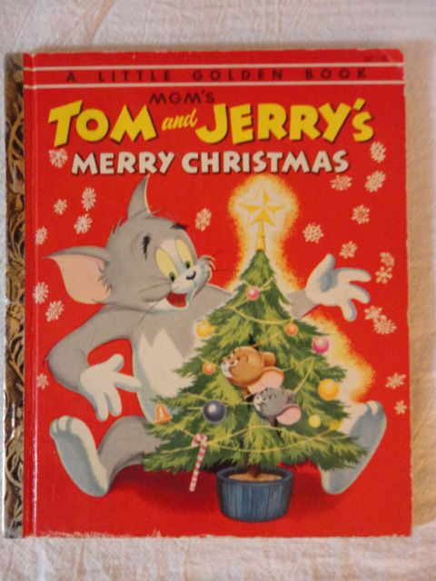 MGM's Tom and Jerry's Merry Christmas - Copyright 1954 - 1st Edition