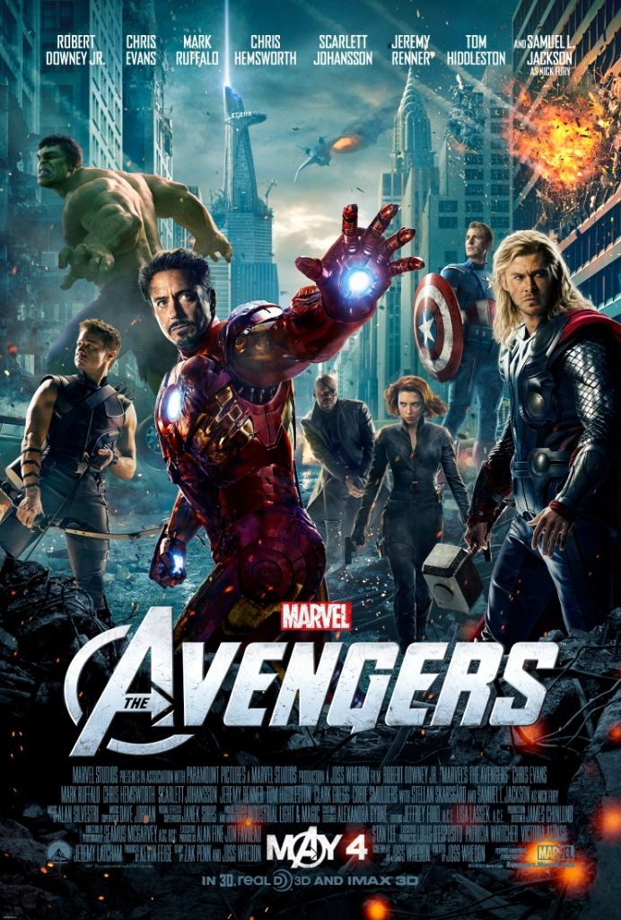 the newly released one sheet for MARVEL'S THE AVENGERS!Chris Hemsworth, Cant Wait, Joss Whedon, Captain America, Summer Movie, Iron Man, Theavengers, Nicolas Cages, The Avengers