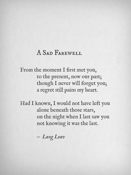 lost a best friend poem | Reblog 3,718 notes May 23rd @ 3:07 pm