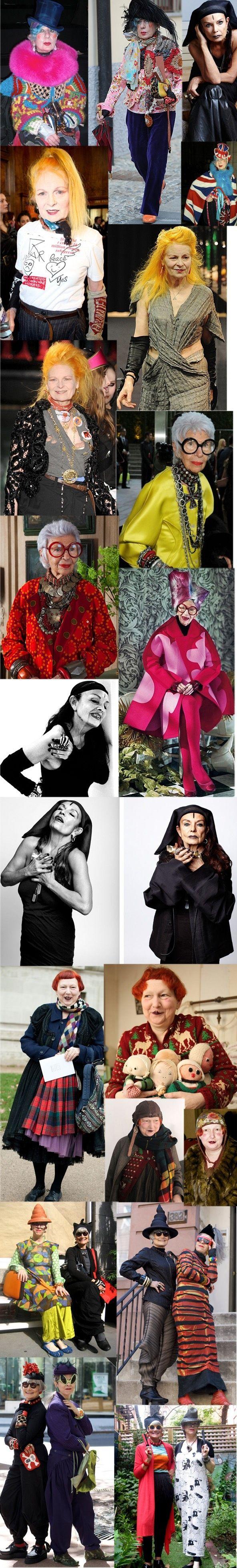 Fashion Over 50 Icons Mode über 50, Über 50 stil und Frau
