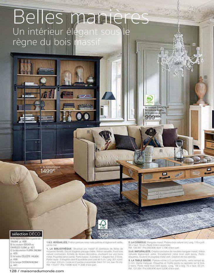 free catalogue et promotions de maisons du monde with magasin maison du monde toulouse. Black Bedroom Furniture Sets. Home Design Ideas
