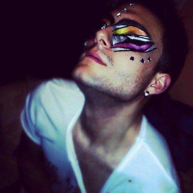 #makeup idea.