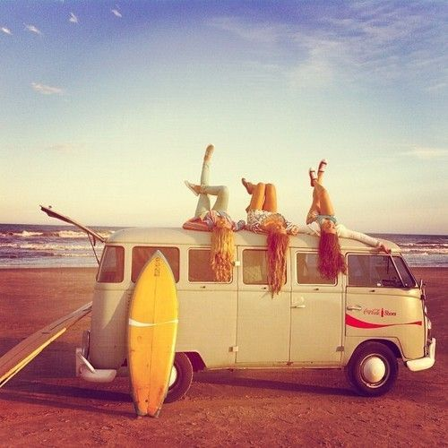Buckets Lists, Vans, Bus, Friends, Summer Fun, Beach, Roads Trips, Summertime, Roadtrip