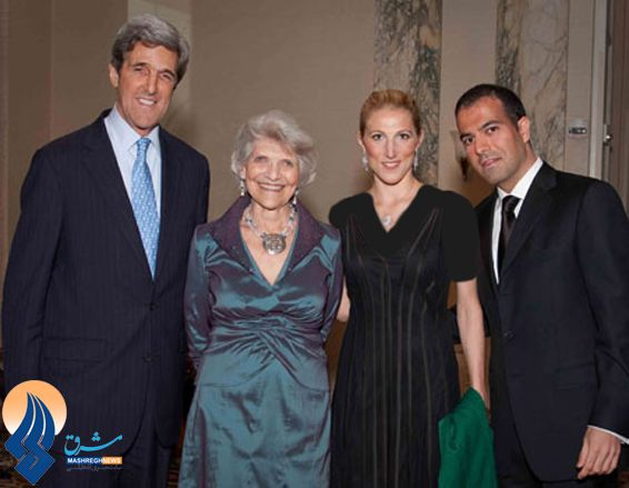 No wonder John Kerry is fine with Iran's nuke program. His daughter is married to an American-Iranian.