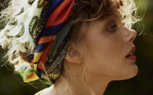 Moda: #Fascia con #maxi nodo tra i capelli (link: http://ift.tt/2c9RDi1 )