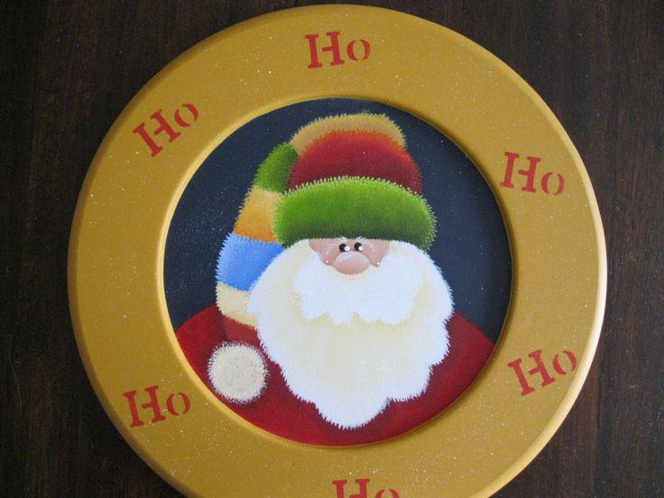 Porta-plato Noel.