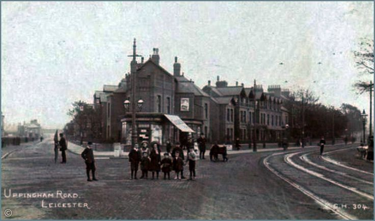 Uppingham Road, Overton Road junction.