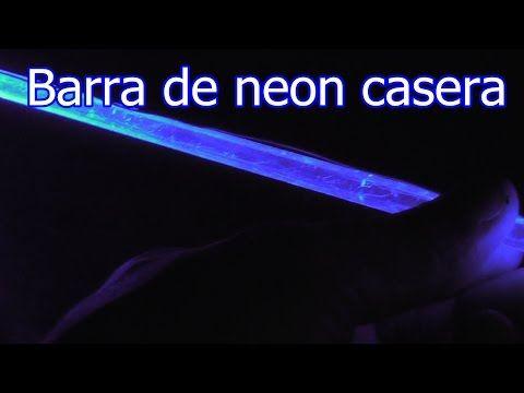 barra de neon casera con bateria de celular - YouTube