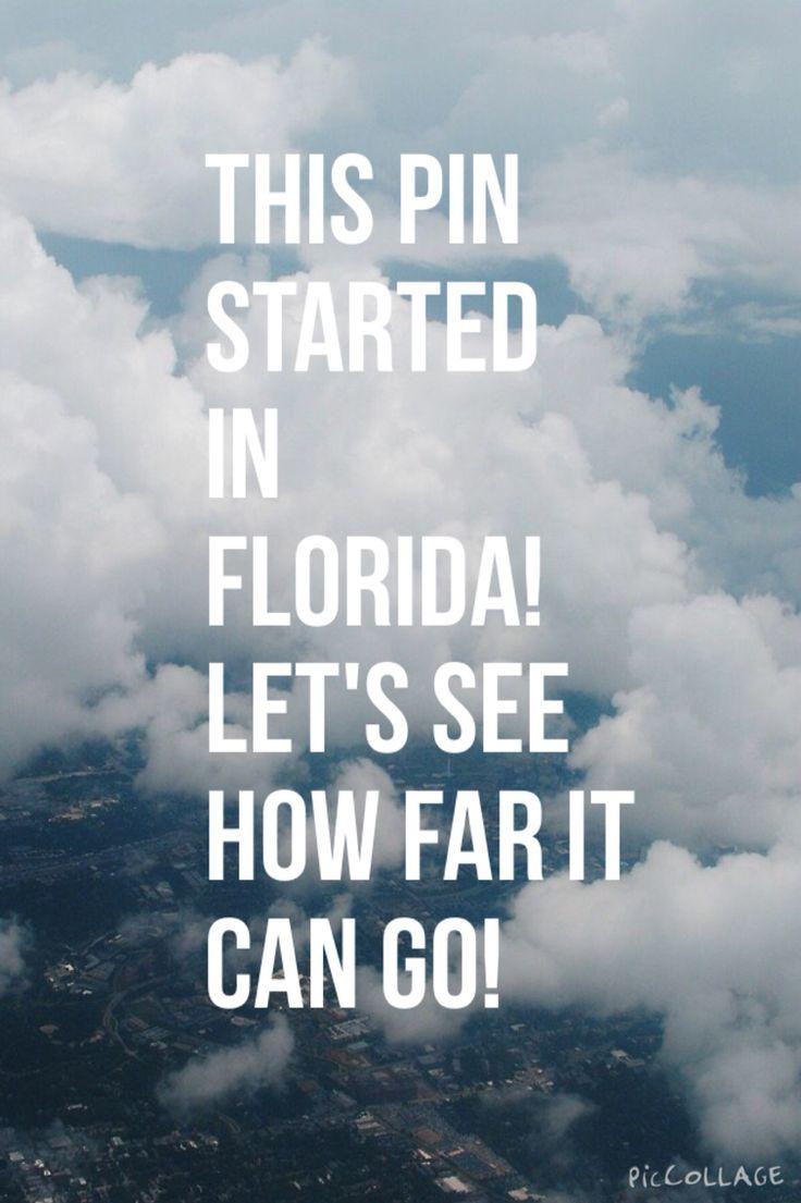 Florida--California--Michigan--Illinois--ohio--New York--West Virginia--Ohio--Texas--Maryland--South Carolina--Texas (again) --Washington--Texas-- Colorado