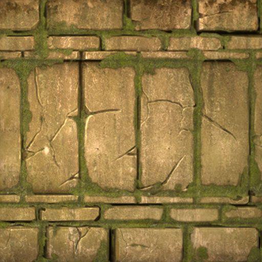 Mayan Large Brick wall
