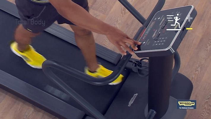 Spazio Forma, il tapis roulant richiudibile di Technogym